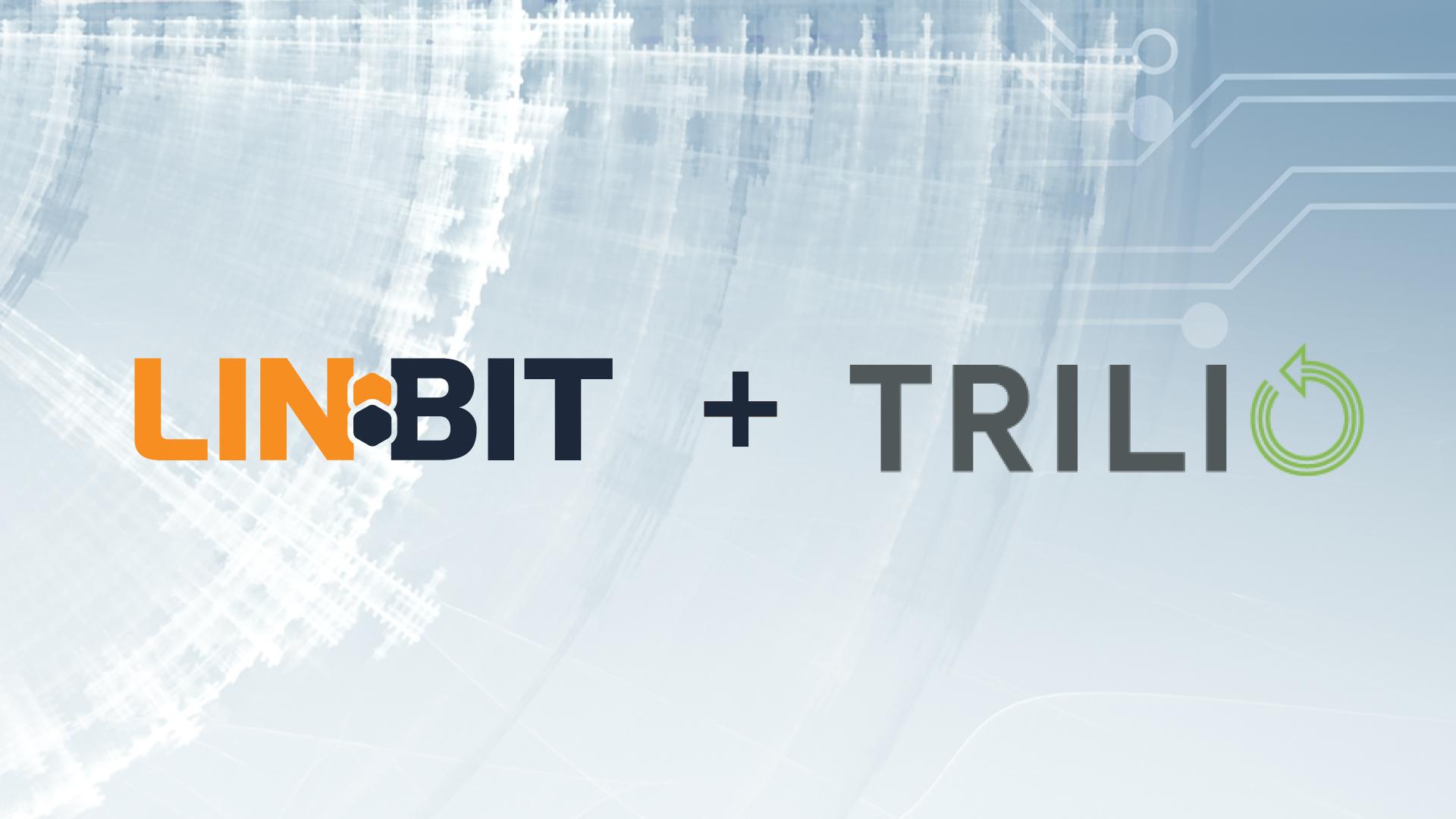 LINBIT Trilio Partnership LINSTOR Kubernetes